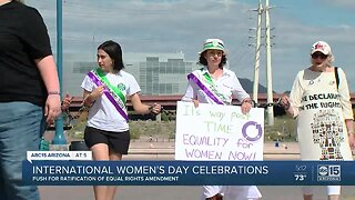 March for equality in Tempe to celebrate International Women's Day