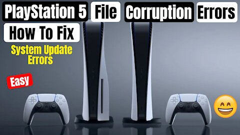 PlayStation 5 won't update: Fixing system file update corruption error