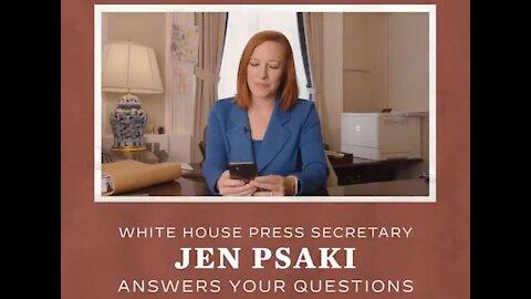 Jen Psaki Makes Q&A Video that Will Insult All Intelligent Americans