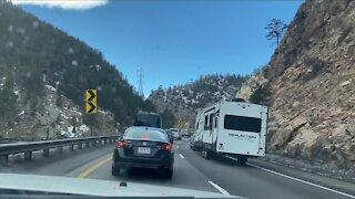 Crews are working on express lane near Idaho Springs
