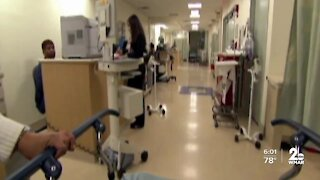 """Congressman proposes """"Hero Pay"""" for frontline hospital workers"""