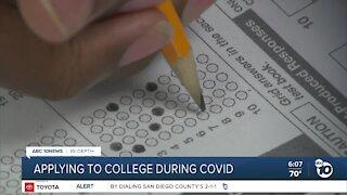 In Depth: COVID-19 complicates college applications