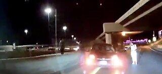 Stormtrooper stops wrong-way driver in Las Vegas
