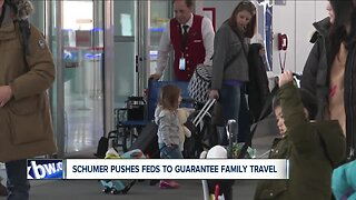 Schumer pushes feds to implement law guaranteeing family travel