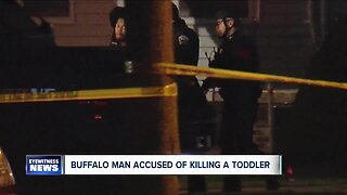 Buffalo man accused of killing toddler