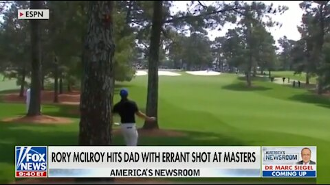 Rory McIlroy Hits Dad with Errant Shot at Masters