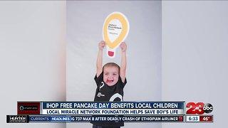 IHOP Free Pancake Day benefits local children