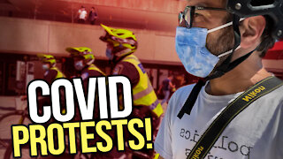 Covid protests in Montreal - viva frei vlawg