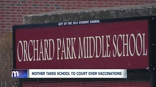 Mother takes school to court over vaccinations