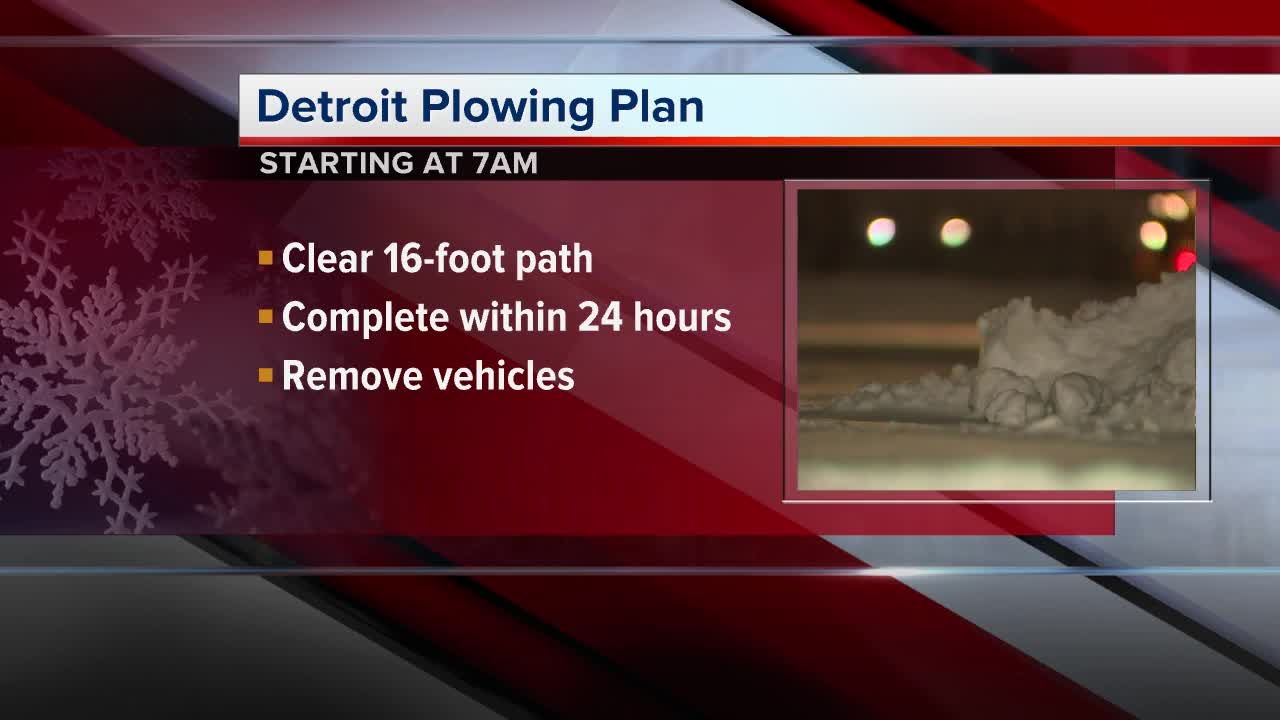 More plows to help clear streets in Detroit