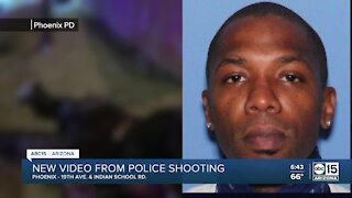 New video released of Phoenix police shooting