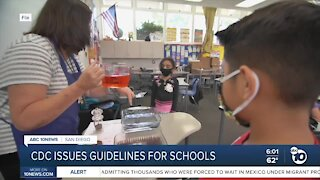 CDC issues guidelines for schools to reopen