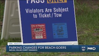 Naples limiting more beach parking to residents only