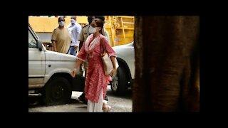 Sara Ali Khan Leaves Home To Appear Before NCB   SpotboyE