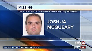 Missing homeless man reported in Collier County