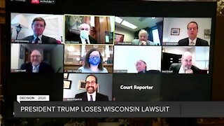 Wisconsin Supreme Court will hear Trump's lawsuit challenging election