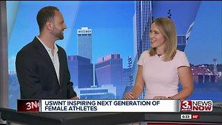 Reporter debrief: USWNT inspiring next generation of female athletes