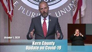 Kern County Public Health Update: October 1, 2020