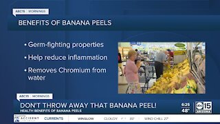 The BULLetin Board: Benefits in banana peels