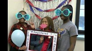 Event inspires high school seniors to register to vote