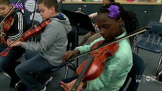 Old Instruments lead to new tunes and new hope for students in Hillsborough County