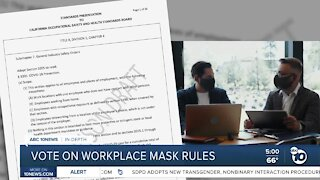 In-Depth: Vote on workplace mask rules