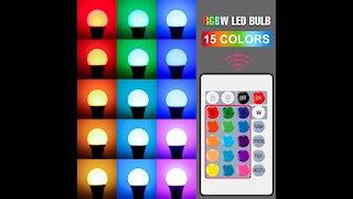 Smart Control Lamp Led RGB