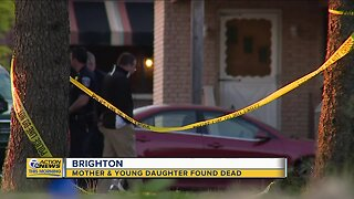 Mother & young daughter found dead in Brighton