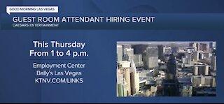 Caesars hiring event