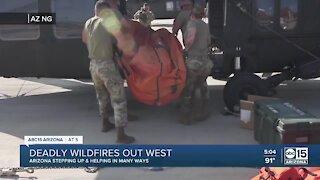 Arizona crews sent to California, Oregon to help fight wildfires