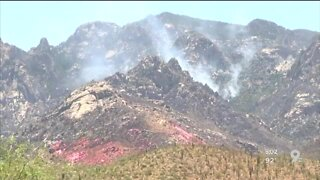 Bighorn Fire now estimated at 2,556 acres, 10% contained