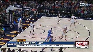 OKC Thunder defeat Utah, 104-88 behind 27 points from Dennis Schroder