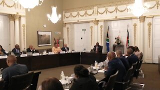 SOUTH AFRICA - Cape Town - President's CEO Meeting (Video) (dRV)