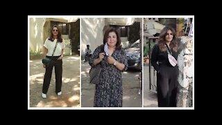 Parineeti Chopra, Raveena Tandon & Farah Khan Spotted at Kromakay Salon | SpotboyE