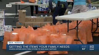 West Valley church offering drive-thru donations