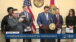Florida Gov. DeSantis issues visitation limits at nursing homes, assisted living facilities