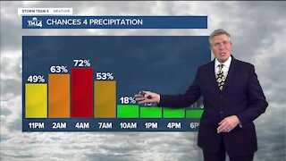 Drizzle/flurries mix continues into weekend
