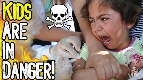 Your Kids Are IN DANGER! - Unvaxxed Children To Be TRACKED AND TRACED By Schools!