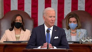 President Biden pitches jobs and family plans in address to Congress