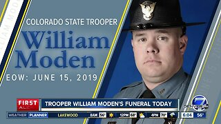 Procession information for CSP Trooper William Moden
