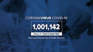 COVID-19 vaccine milestone in Wisconsin