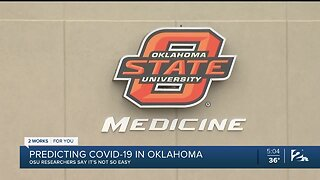 Predicting COVID-19 In Oklahoma: OSU Researchers Say It's Not So Easy