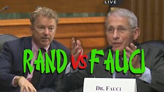 Rand Paul Exposes Dr Fauci's Warcrimes In Sentate Hearing