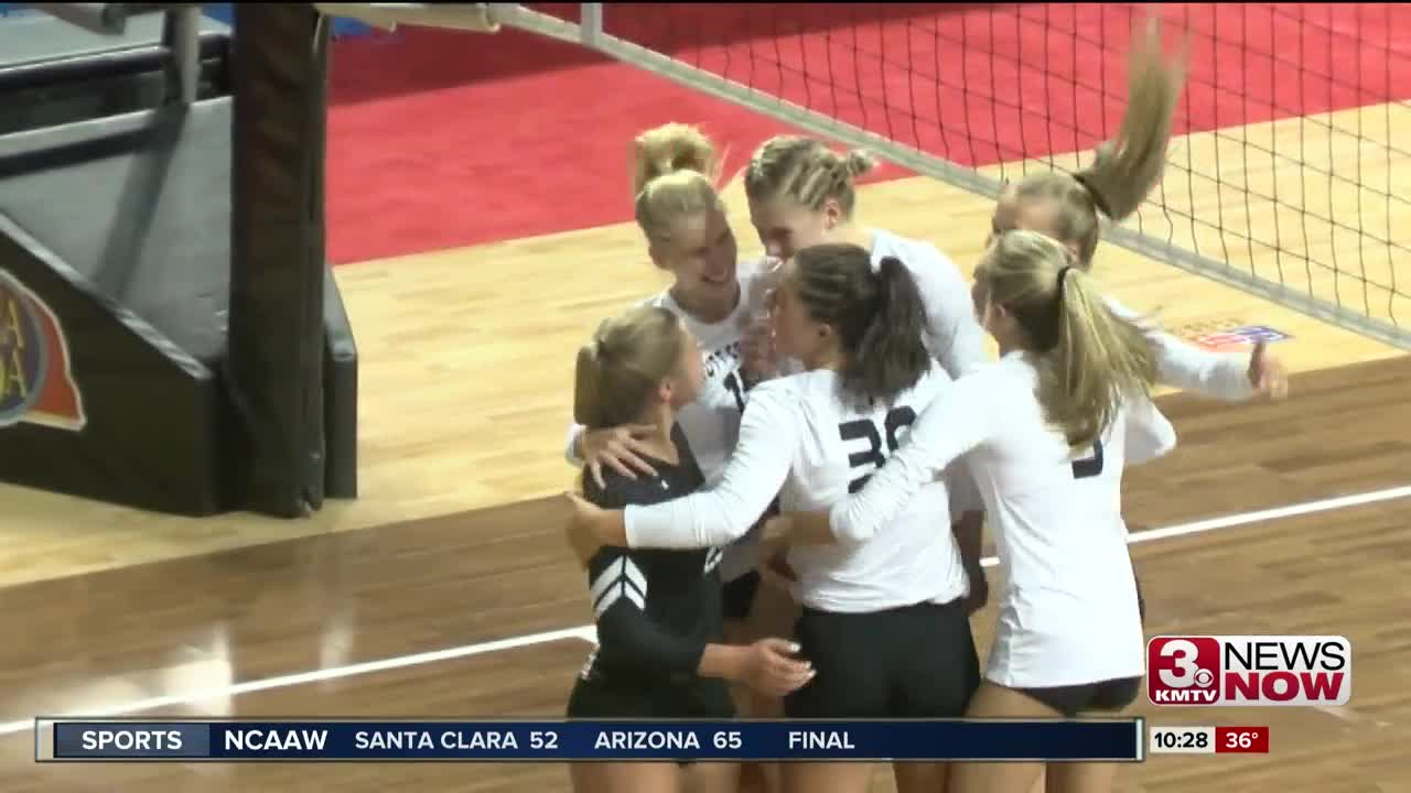 State Volleyball Semifinal Highlights 11/8/19