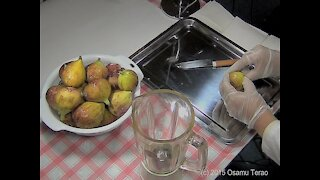 HOW TO MAKE FIG JELLY (In a way of Japanese)