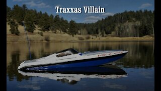 Traxxas Villain Radio Control Model Boat with Onboard Camera