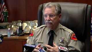 Sheriff Donny Youngblood talks about child predator arrests