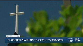 churches make plans to reopen