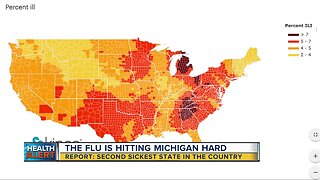 Michigan is 2nd sickest state in the country, report says
