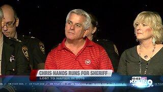 Former Pima County Sheriff Chris Nanos running for sheriff in 2020